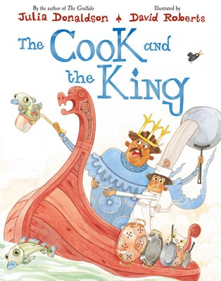 Book cover for The Cook and the King